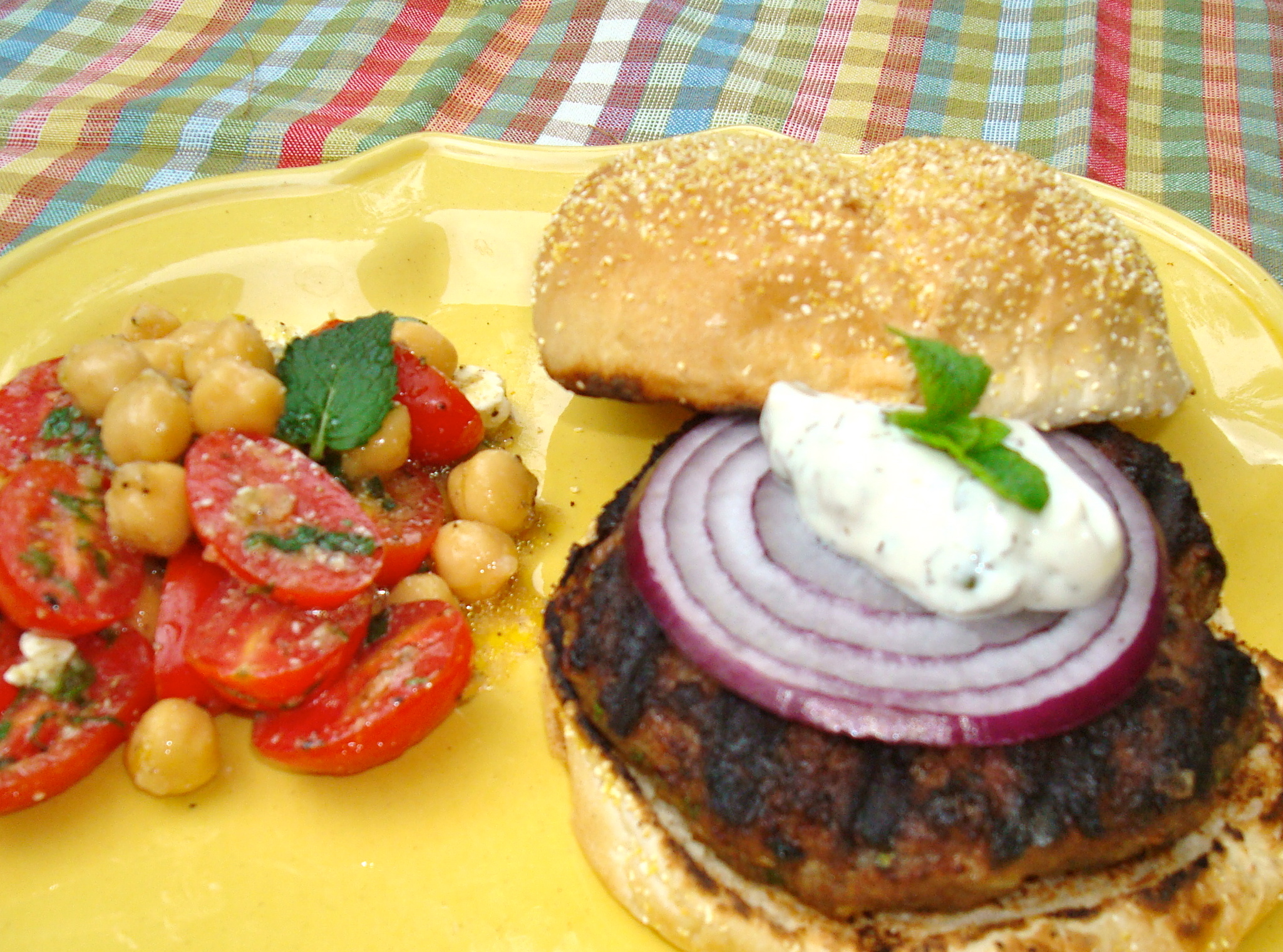 The Best Lamb Burgers Recipe — Dishmaps