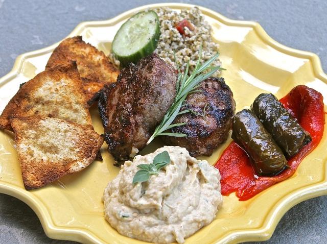 Mediterranean Grilled Lamb Chops