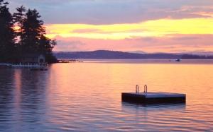 Sunset On The Lake, Naples Maine