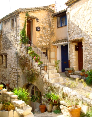 Home in Village of Tourrettes sur Loup