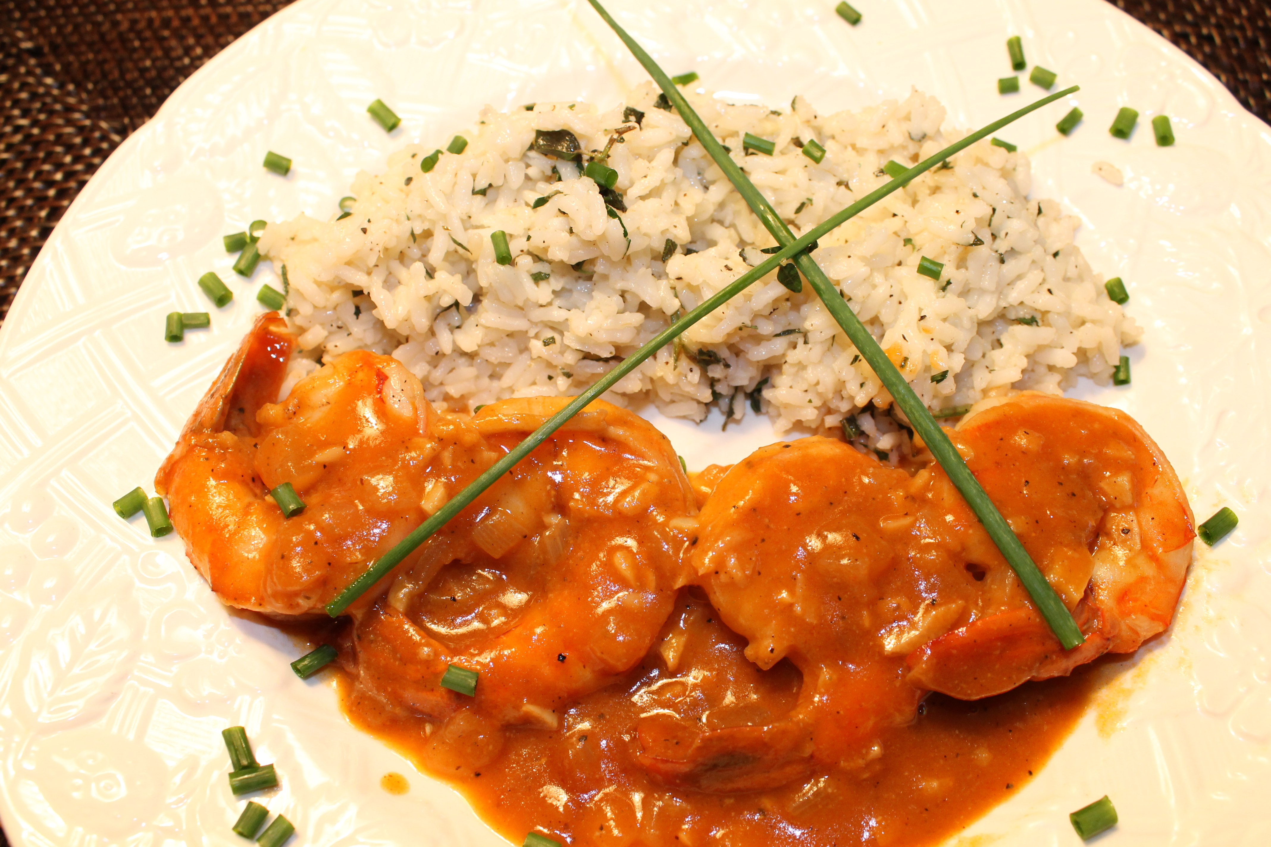 Spicy New Orleans Style Shrimp | Back Road Journal