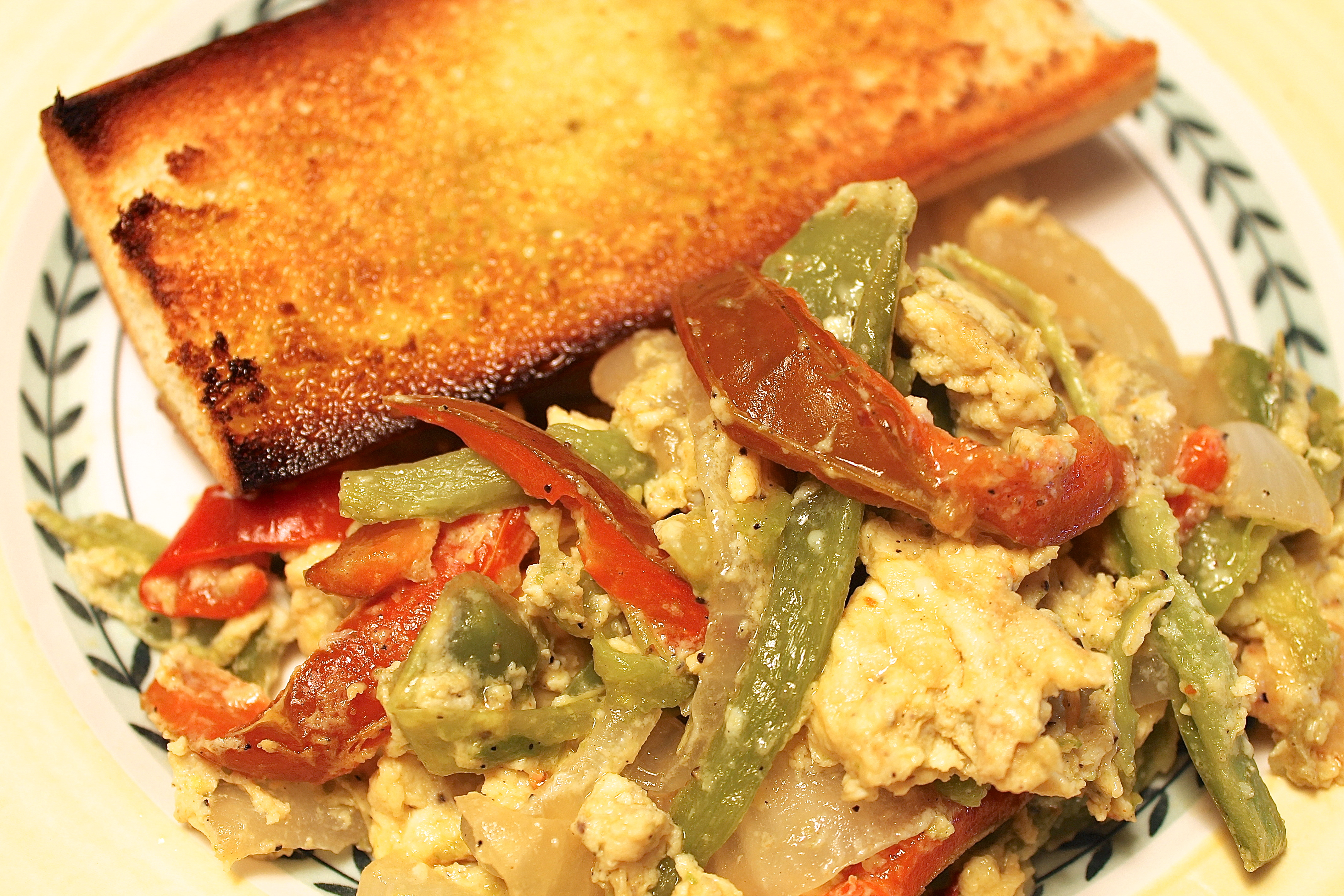 Peppers and Eggs, A Simple Italian Meal | Back Road Journal