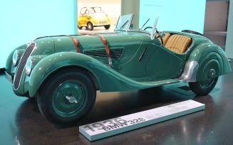 1936 BMW 328 But Take A Look In The Background
