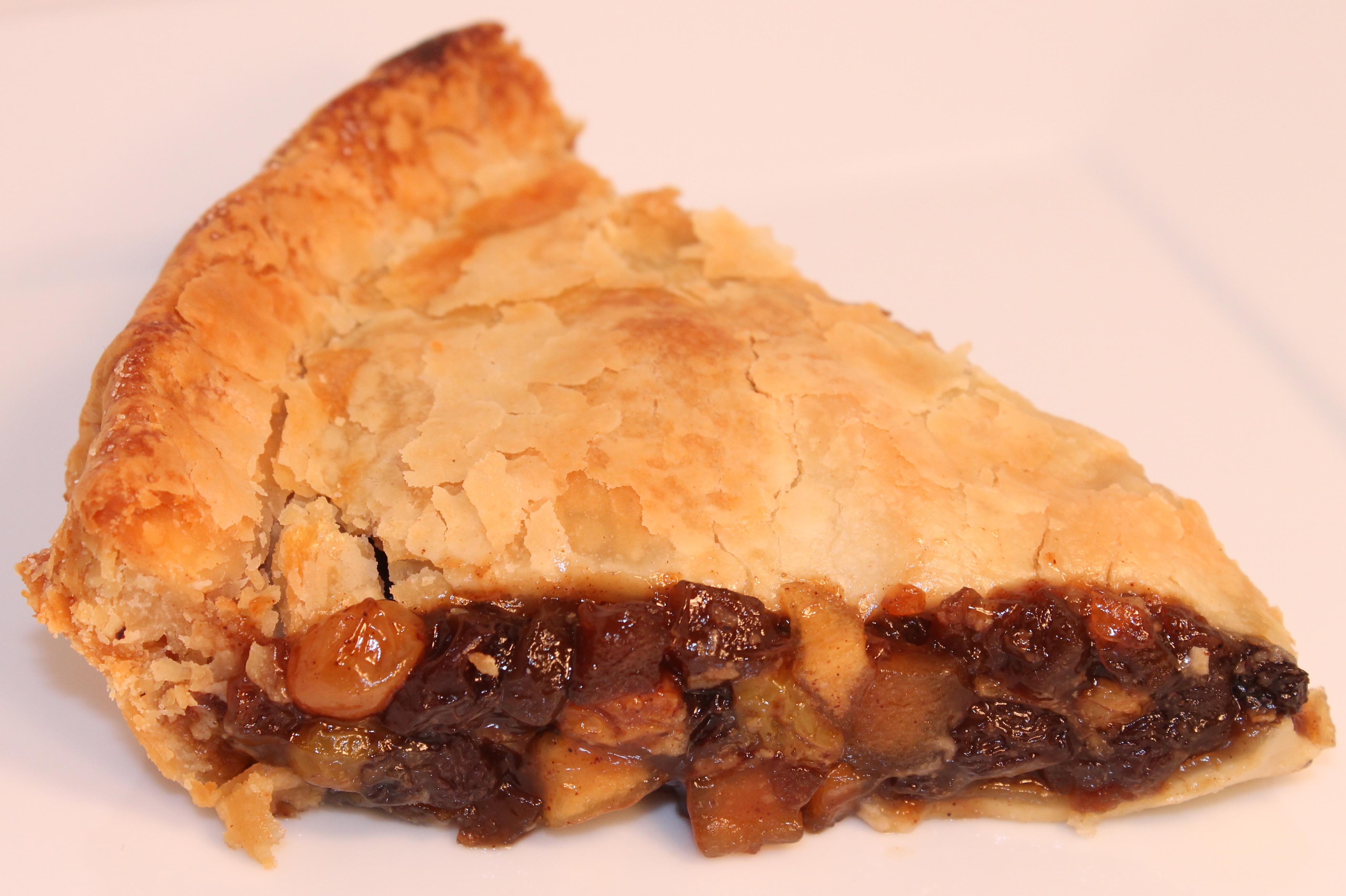 Mincemeat Pie mince (no meat) pie back road journal
