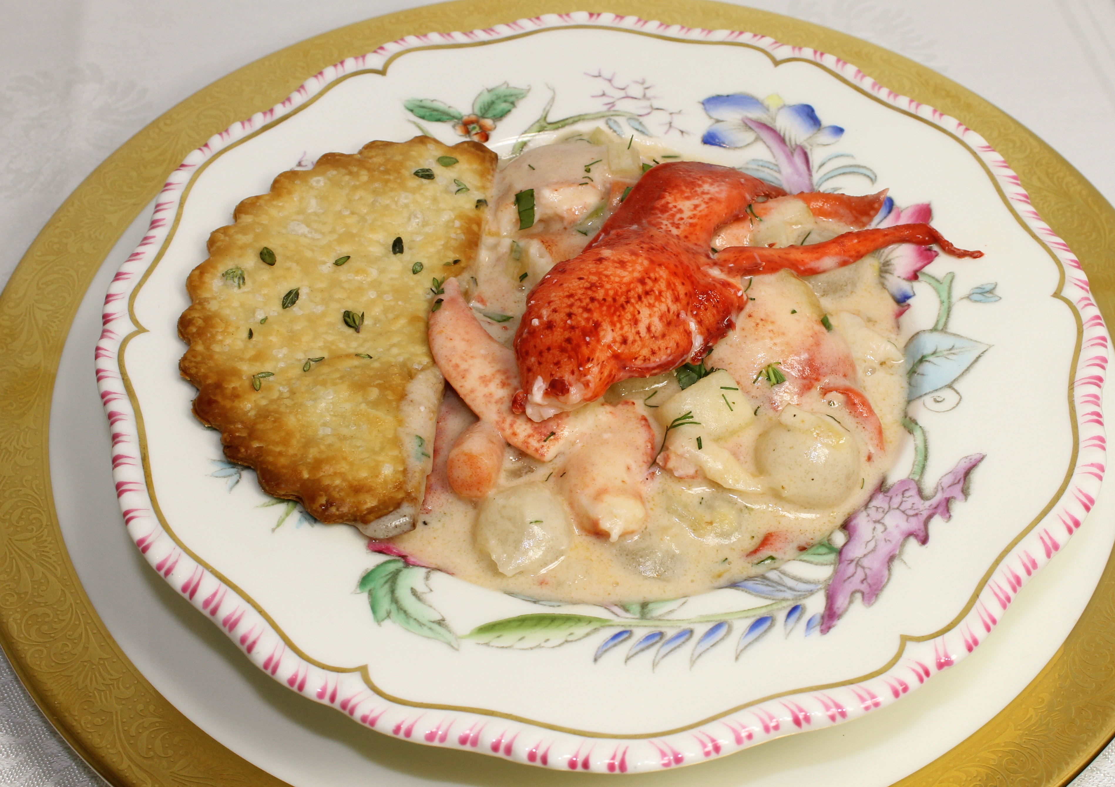 The New Year's Lobster Pot Pie | Back Road Journal