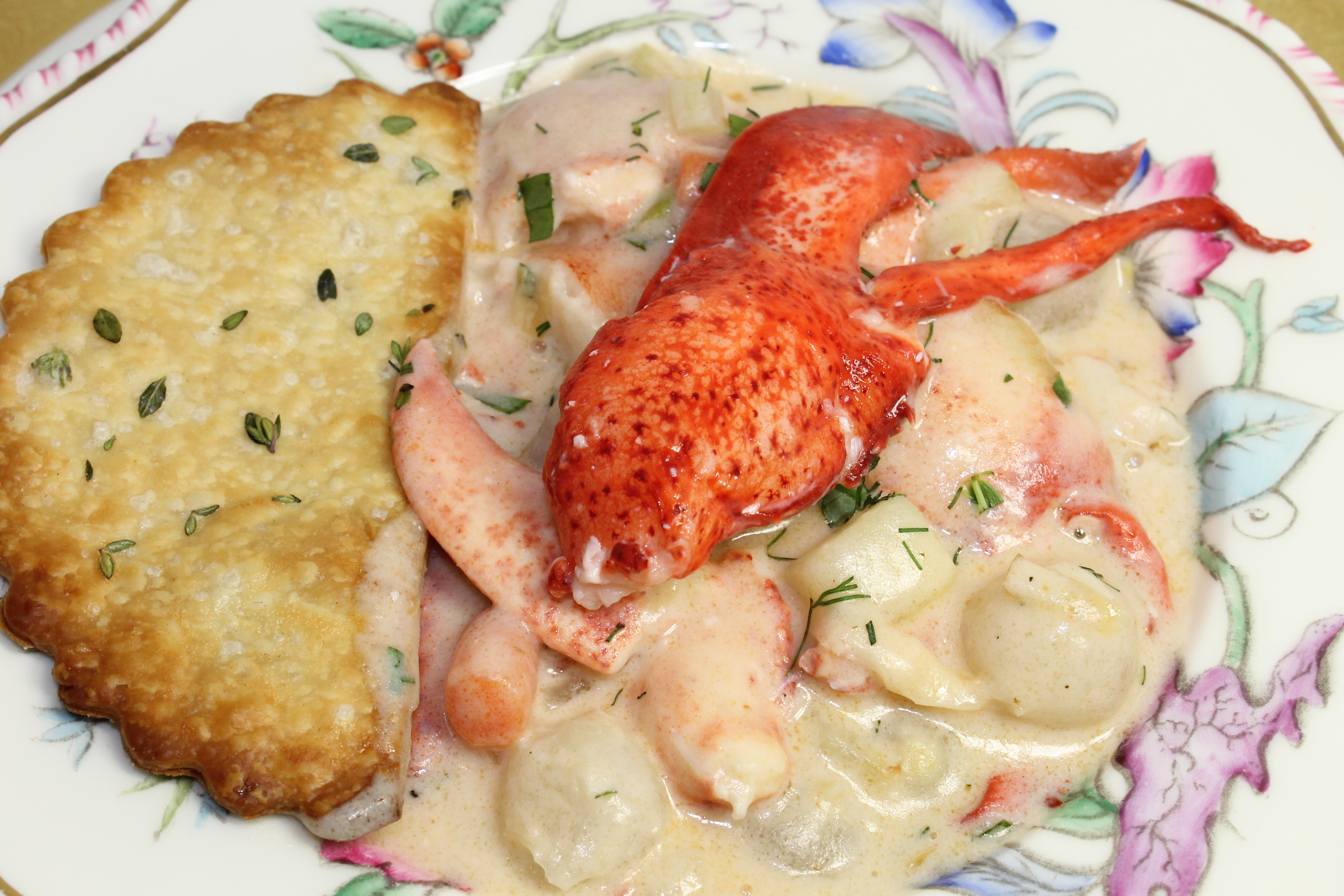 The New Year's Lobster Pot Pie