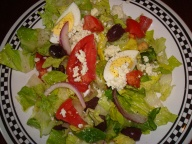 healthy salad for lunch