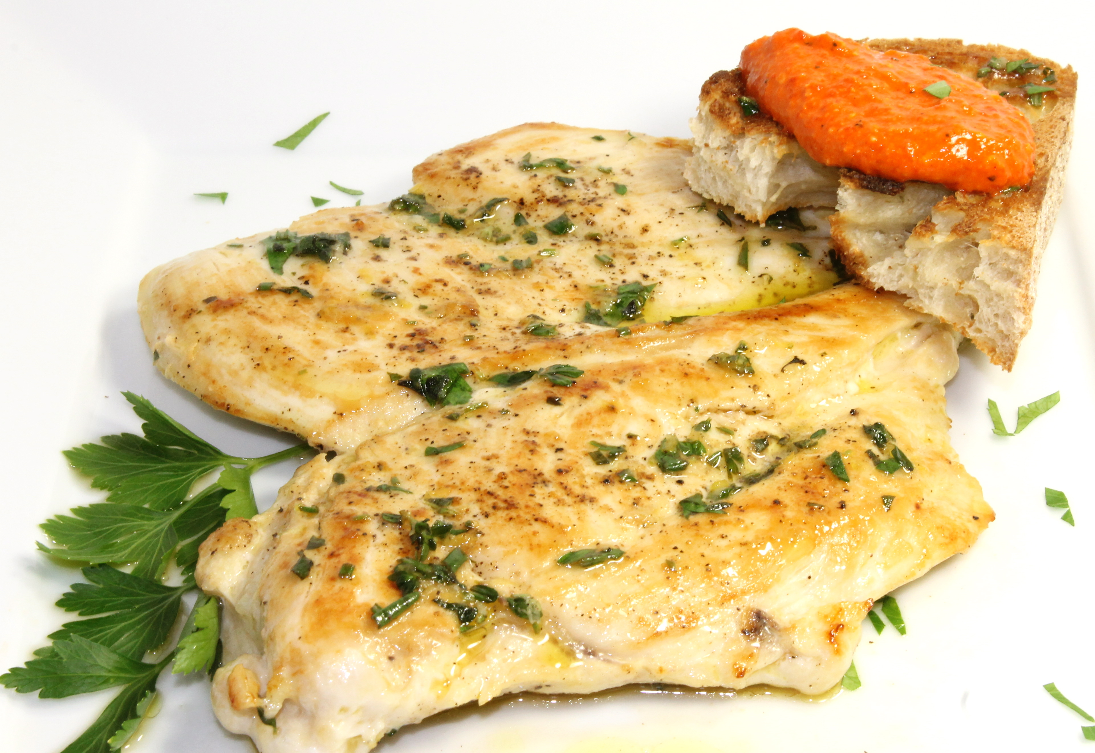 Spanish Roast Chicken With Romesco And Grilled Onions Recipes ...