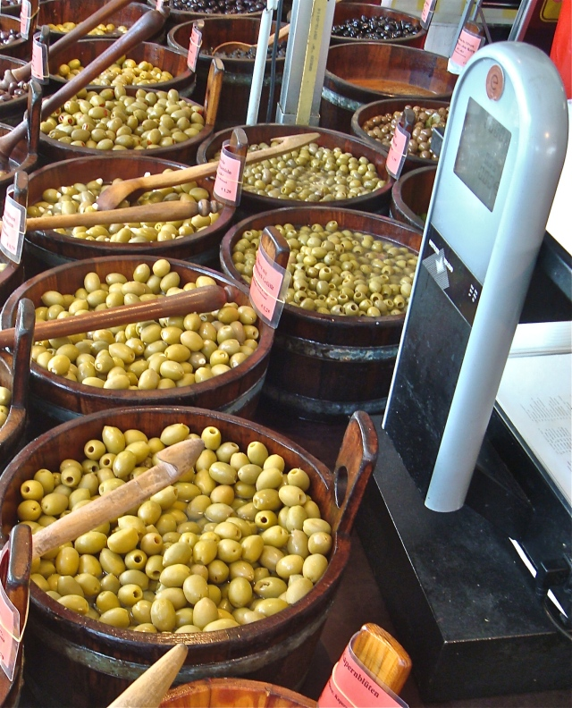 Olives Available In The Markets