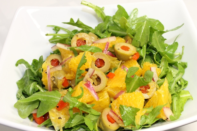 Mediterranean Olive And Orange Salad