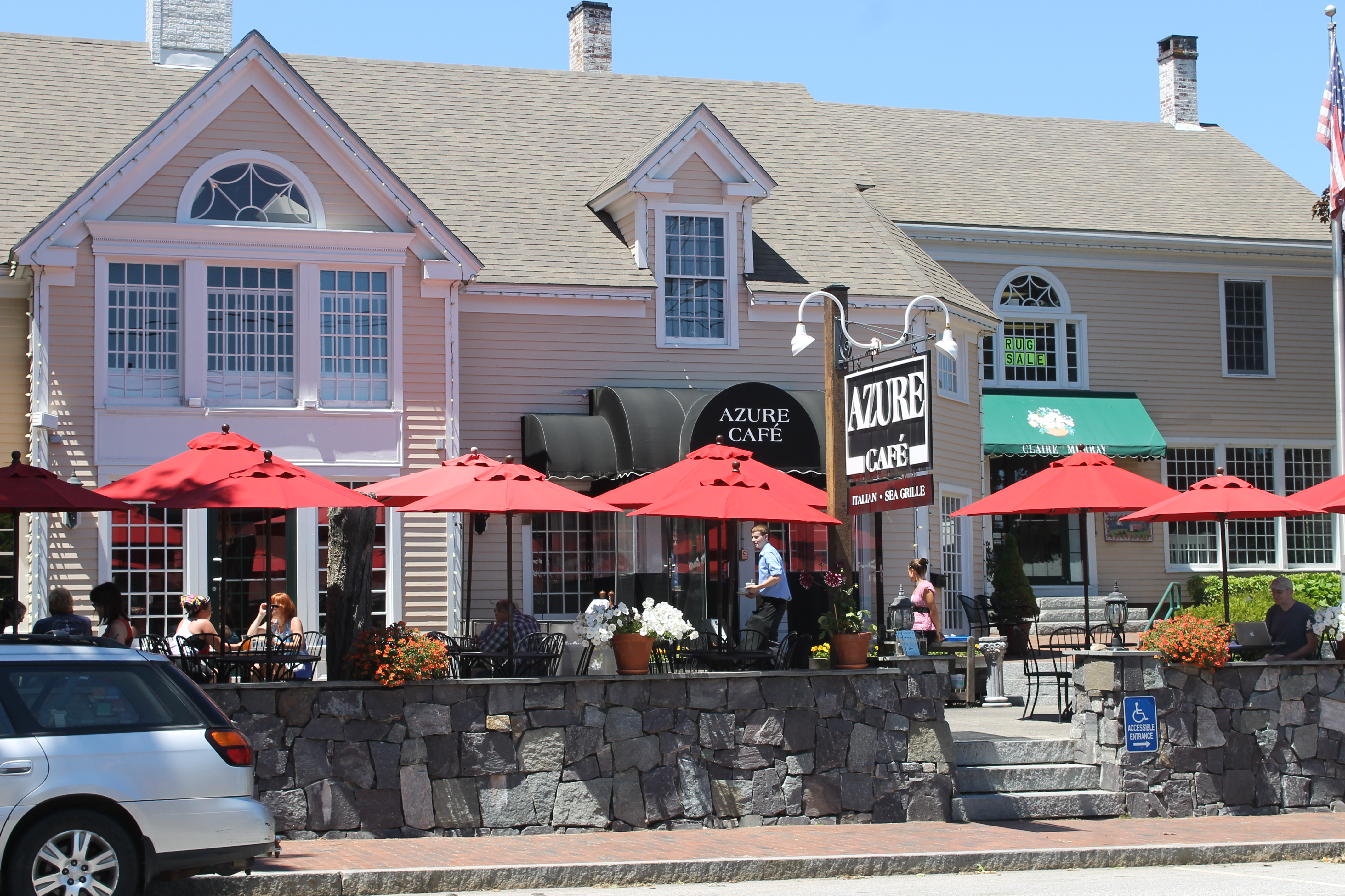 Azure Cafe Main Street Freeport Maine
