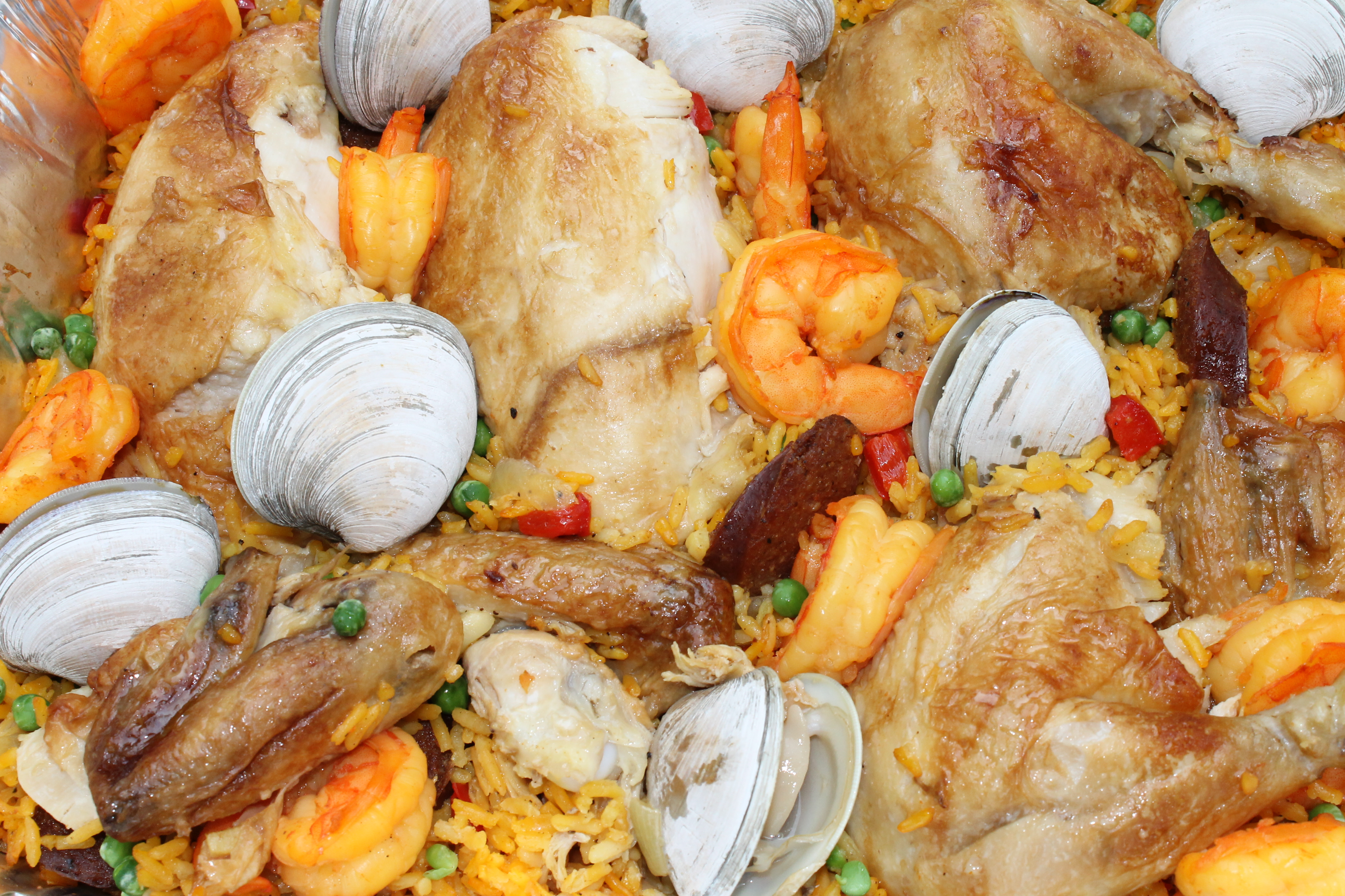 Grilled Paella Mixta (Paella With Seafood And Meat) Recipes ...