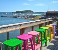Colorful Viewing Of Bar Harbor