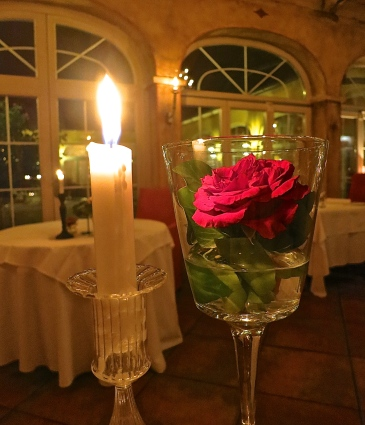 A Romantically Set Table