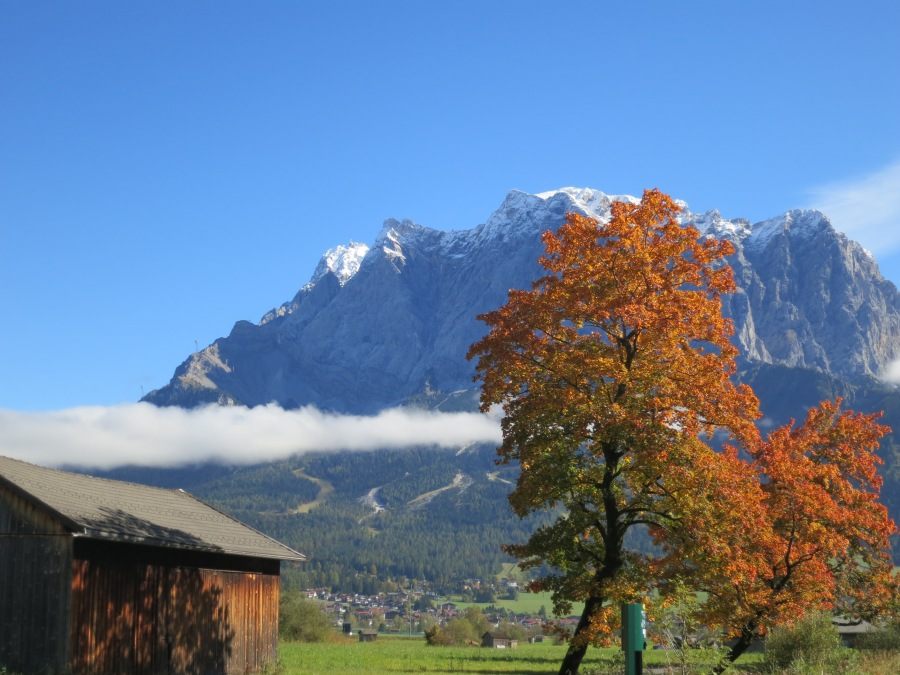 The Zugspitz, Germany's Tallest Mountain