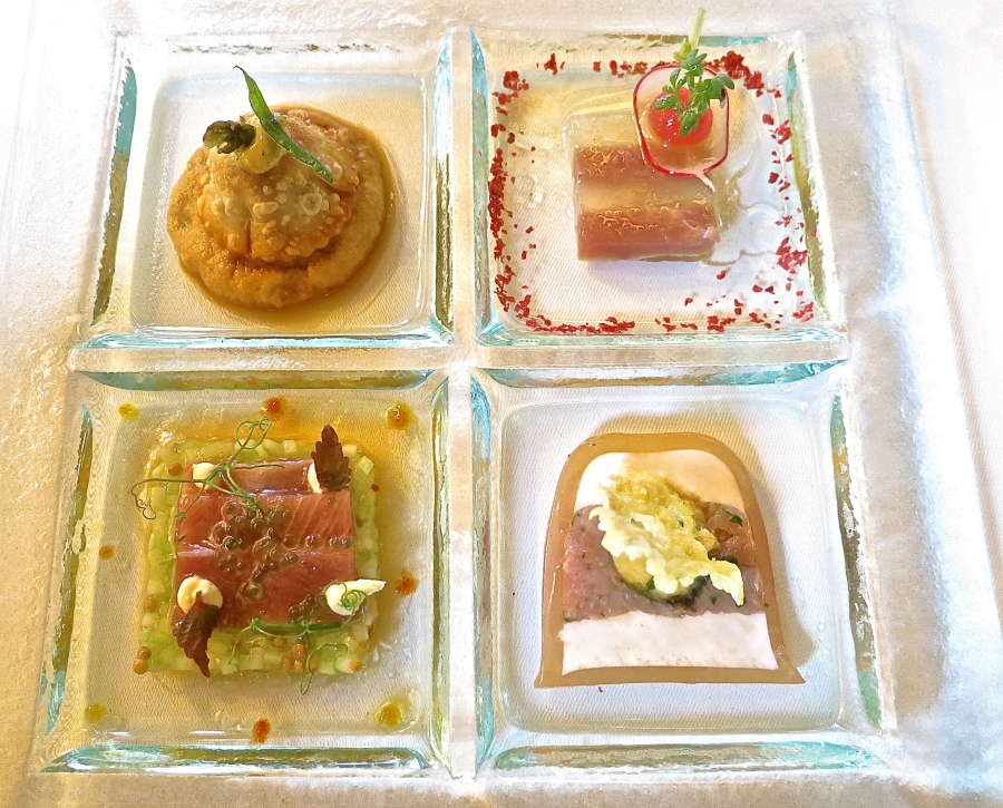 A Variation On Tuna Served Cold Four Ways