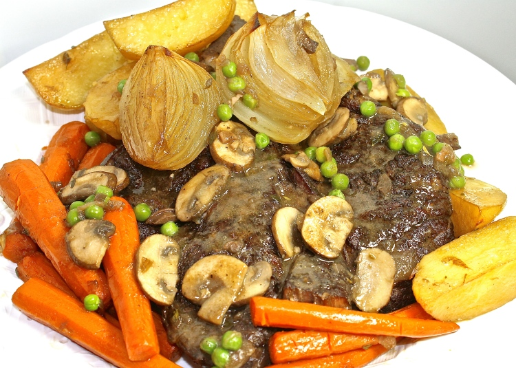 Oven Braised Roast With Vegetables