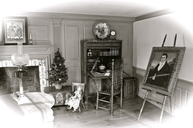 The Parlor As It May Have Looked