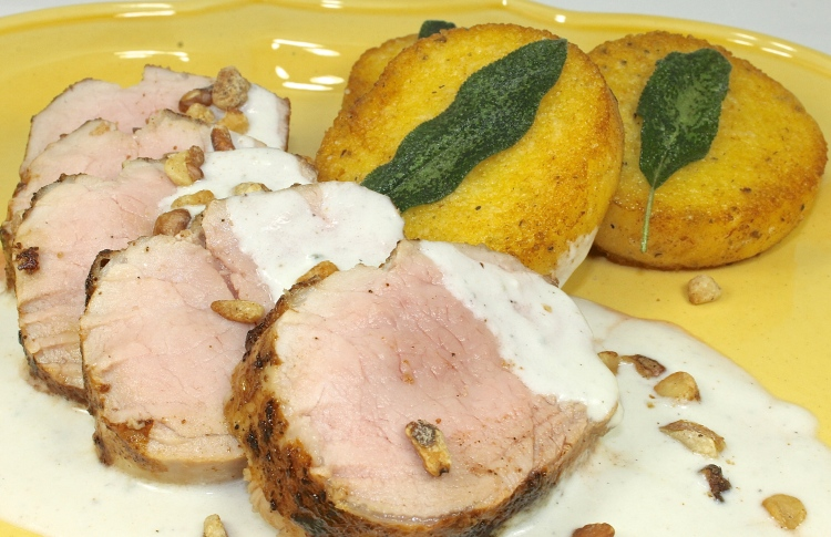 Pork Tenderloin With Gorgonzola Sauce