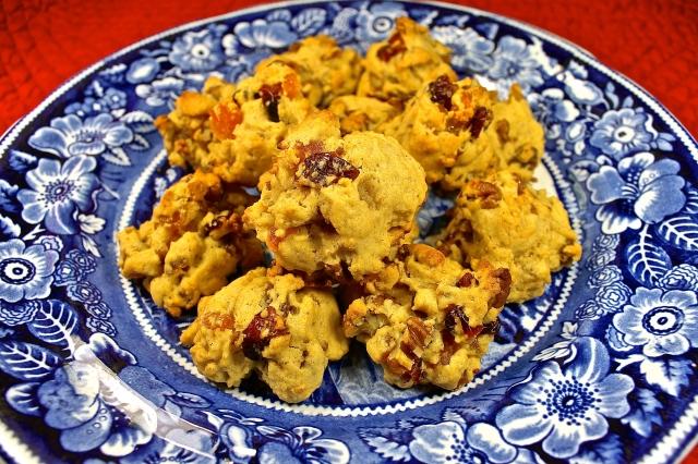 Brandied Fruit And Nut Cookies