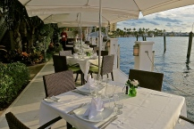 Dockside Dinner Tables