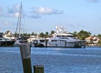 Yachts At Moorings
