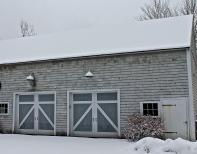 Gray Barn On A Gray Day