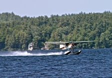 Take Off By Water On Long Lake