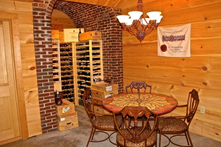 The Wine Cellar…Perfect For A Wine Tasting