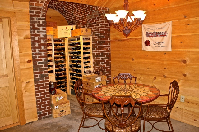 Our Wine Cellar...Let's Do A Wine Tasting