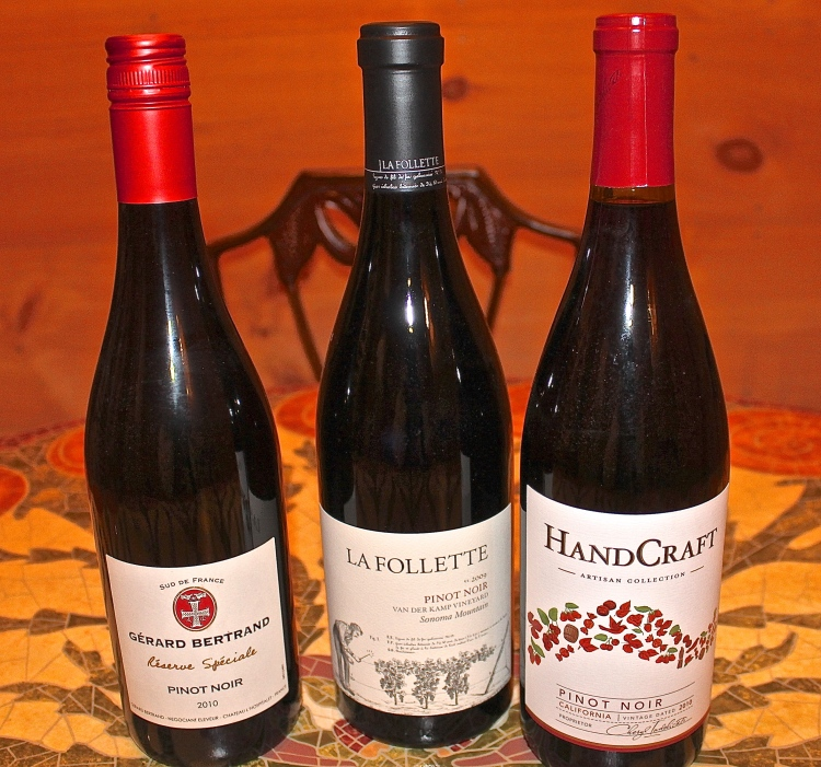 Three Excellent Pinot Noirs To Taste