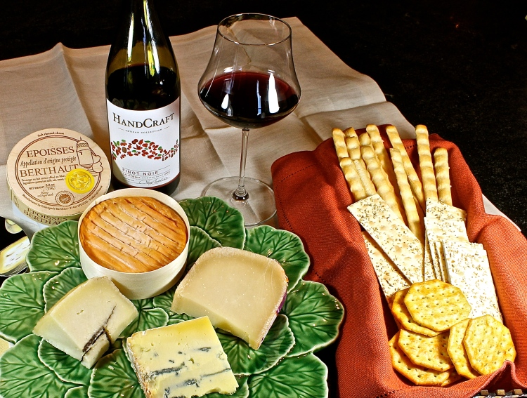 Wine And Cheese Tasting In The Cellar