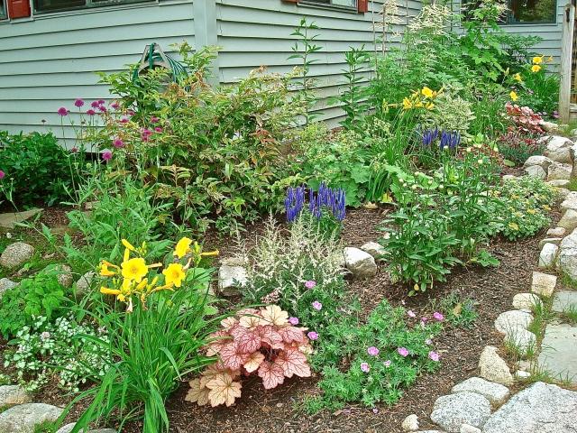 Deck Garden Last July
