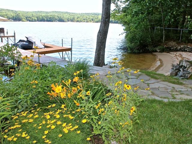 Lakeside Garden In Bloom