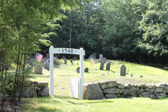 Ye Old Cemetery From 1740