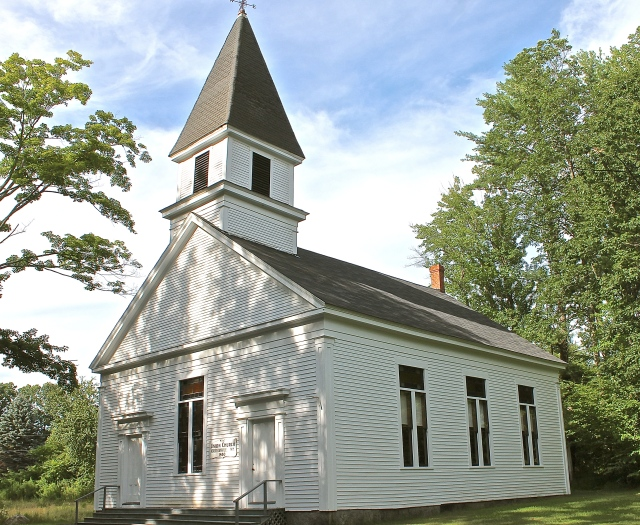 Union Church Built In 1850