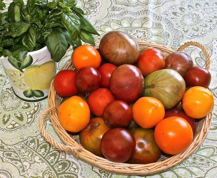 Heirloom Tomatoes From The Garden