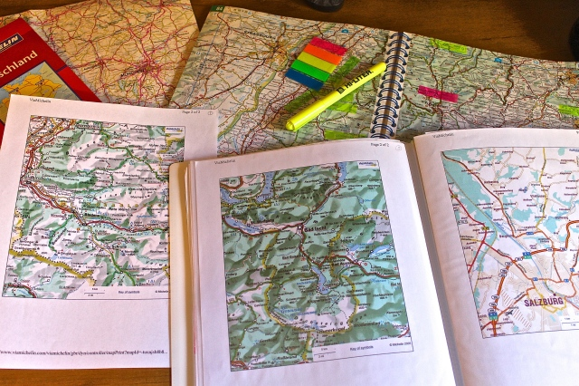 Making A Map Book Of Travel Areas