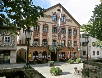 Historic Partenkirchen, Germany