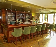 The Bar With Is Part Of The Fireside Lounge