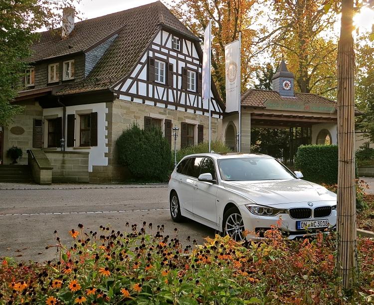 BMW rental car