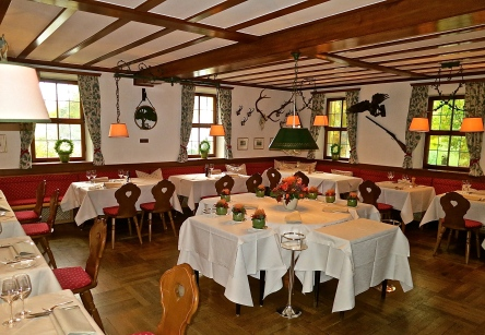 The Cosy Jägerstube Serves Regional Dishes