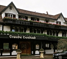 The Original Building Of Traube Tonback Where The Famour Schwarzwaldstube Is Located