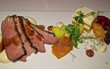 Salad Of Duck Breast With Cauliflower And Kumquat