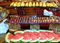 Part Of The Fresh Fruit Selection