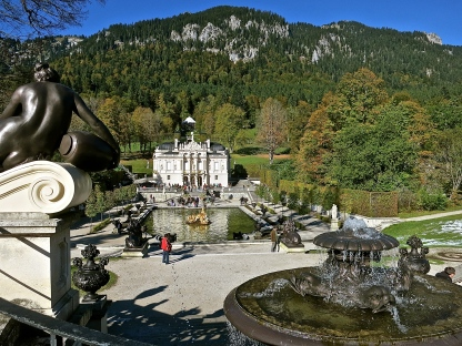 Linderhof Palace And Gardens