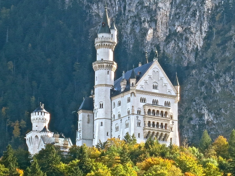 Neuschwanstein Castle Built by Ludwig II
