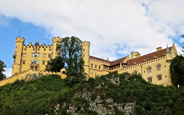 Hohenschwangau Castle Where Ludwig II Lived As A Young Boy