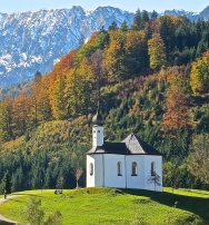 Picture Perfect Alpine Scenery In Tirol, Austria