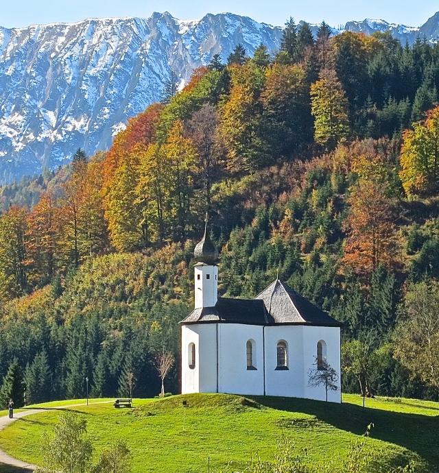 Picture Perfect Alpine Scenery In Tirol, Austria